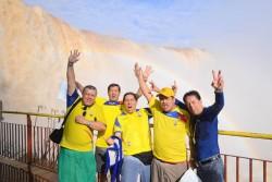 """Turistas da Copa """"invadem"""" as Cataratas do Iguaçu"""
