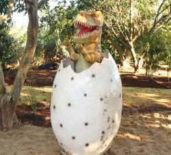 Foz do Iguaçu tem museu de cera e dinossauros