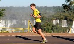Corredores revelam adrenalina de correr a Meia das Cataratas