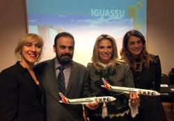 ações para criar rota direta entre a Europa e Foz do Iguaçu