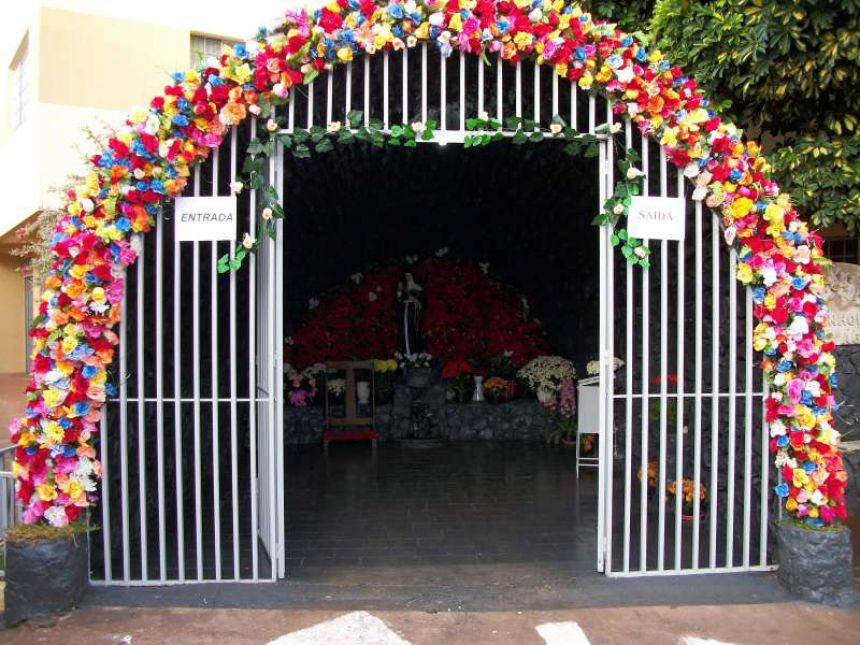 Resultado de imagem para gruta santa rita lunardelli